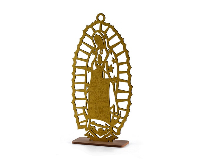 Our Lady of Guadalupe Baptism Decorations Spanish Version. (L)