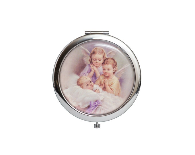Compact Mirror Angel Figurine Party Favors.