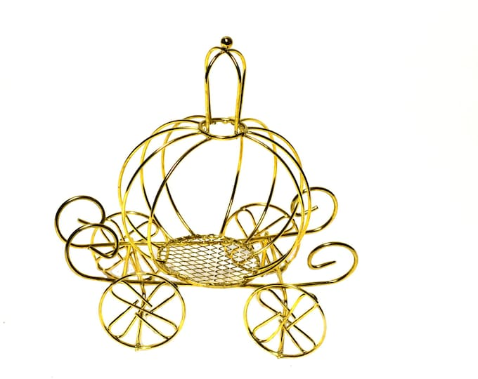Cinderella Wire Carriage-Baby Shower Favors-Wedding Favors-Wire Carriage Favors.