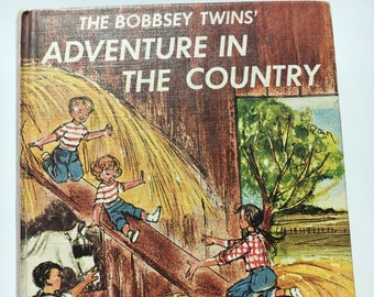Vintage Children's Book: The Bobbsey Twins