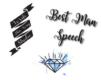 Best Man Speech Writing Service - Write This Way Studio - Wedding Services - Best Man Speech - Speech Writing -