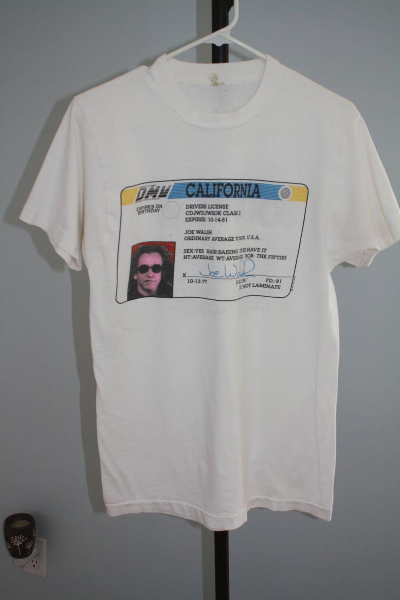 Ordinary Average Guy Joe Walsh T shirt