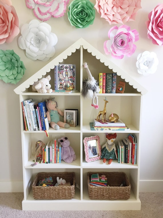 Dollhouse Bookcase for Girls