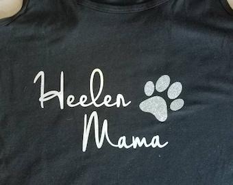 Personalized dog mama/dad shirt