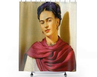 Custom Curtain Frida Kahlo Decor Home Bathroom New Gift Shower Curtains Apartment Print