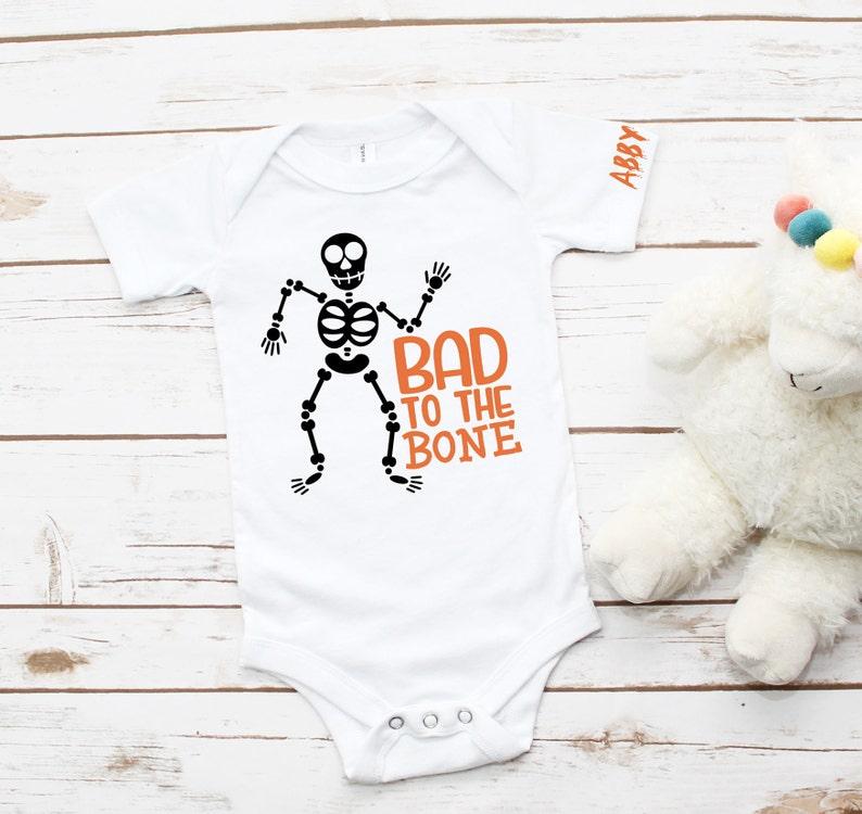 Trick or Treat Shirt Toddler Halloween Tee Personalized Kids Halloween Shirt Glow in the dark Shirt! Halloween Shirt for Baby