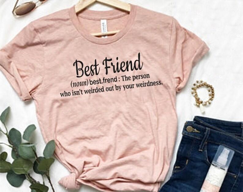 3d1d0675 Best Friend Shirts Best Friend Gift BFF Shirt Bestie | Etsy