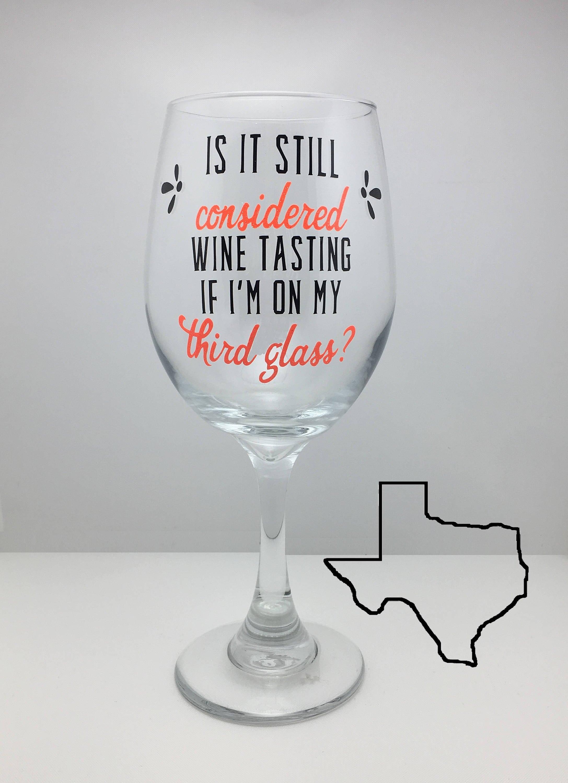 Glas Wein lustige Weinglas Geburtstag Gläser Hochzeit | Etsy