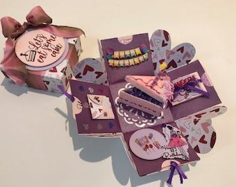 Custom Birthday Gift Box Gift Ideas Happy Birthday Gift Box Happy Birthday Gift Basket Birthday Gifts Ideas Birthday Gifts For Her & Custom birthday gift | Etsy
