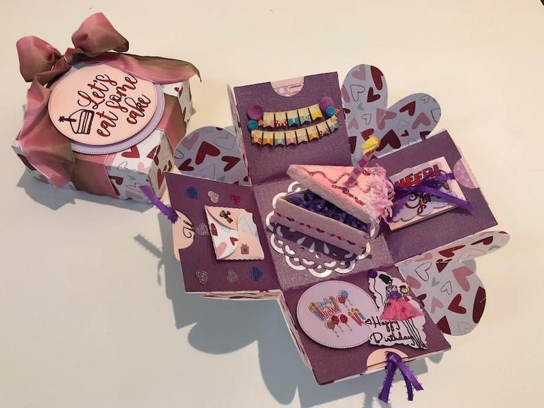 image 0 & Custom Birthday Gift Box Gift Ideas Happy Birthday Gift Box | Etsy