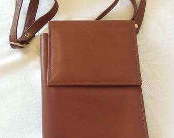 La Gorde Brown Leather Wallet Purse