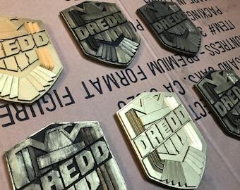 Judge Badge Cold Cast Dredd cosplay