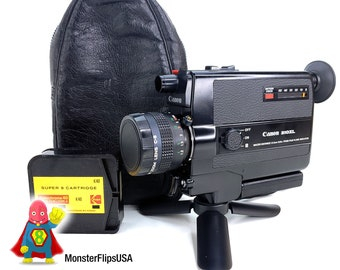 Canon 310XL Professionally SERVICED and Fully Tested Super 8 Camera