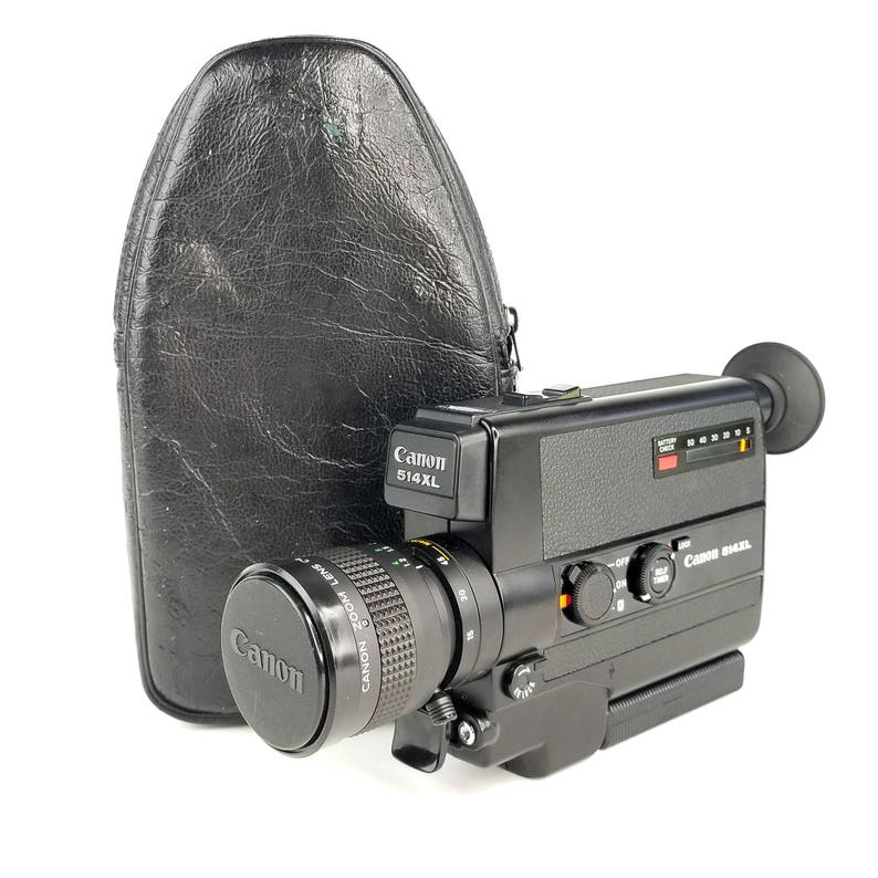 Huge Discount! CANON 514XL Super 8 Camera With MANUAL ZOOM only lens not 100/%