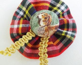 Fabric Brooch