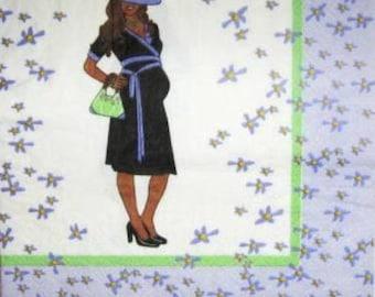 Pregnant woman #DI012 NAPKIN