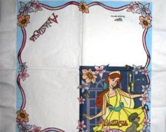 Princess Disney #E006 Anastasia NAPKIN