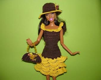 Barbie Kleidung Barbie Geburtstag Outfit Barbie Kleid Barbie Etsy