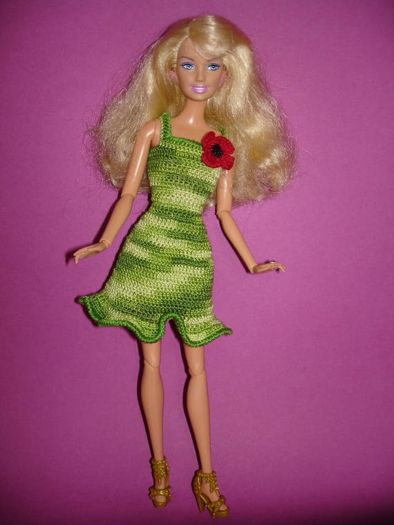 Barbie Geburtstag Outfit Barbie Puppe Kleidung Barbie Zubehör Etsy