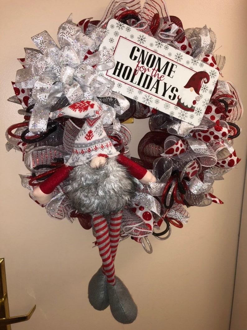 Gnome wreath