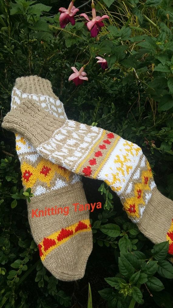 Women Ladies Winter Long Warm Leg Warmers Cable Knit Knitted Crochet Socks UK