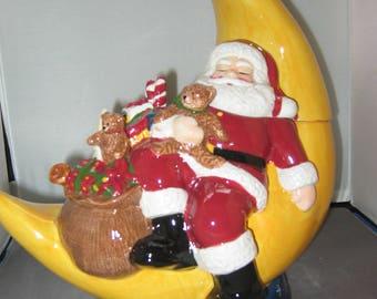 Merry Little Christmas Cookie Jar