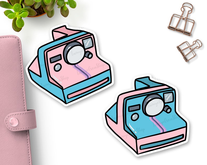 picture regarding Polaroid Camera Printable called Printable Polaroid Digicam Die Cuts, Lovely Instax Die Cuts, Planner Die Cuts, Bullet Magazine, TN Die Cuts, Printable Planner Die Lower
