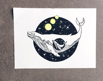 Whale and Baby