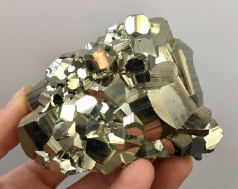 Sparkly Golden Pyrite Crystal Specimen !!!