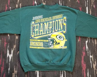 Green Bay Packers Vintage 1995 NFC Central Division Champions Large da6675caf