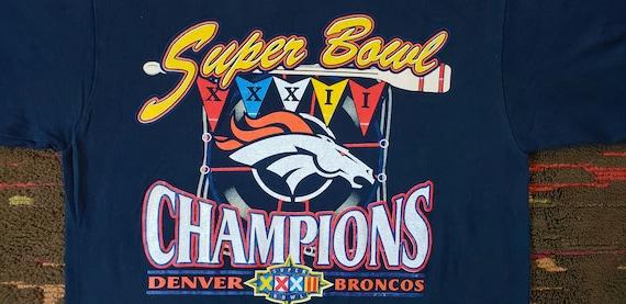 Denver Broncos Vintage Super Bowl XXXII Champions Logo 7  6799fd3db