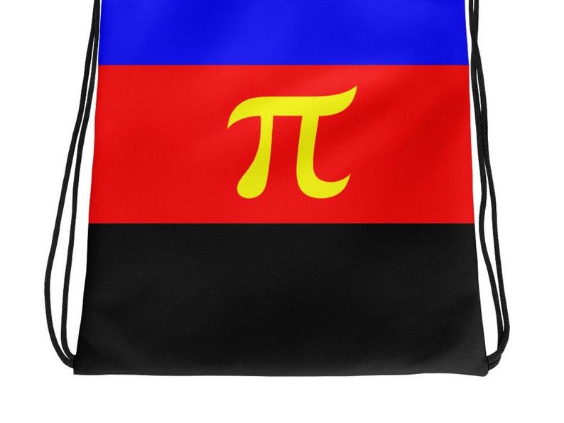 Poly Pride Backpack Polyamory Flag Drawstring Bag