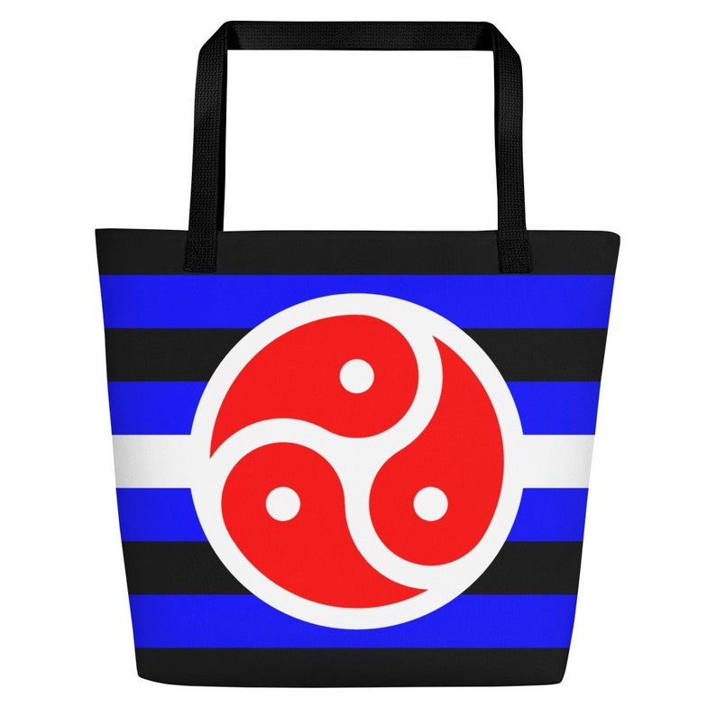 BDSM Bondage Rights Tote | Fetish Pride Flag Beach Bag