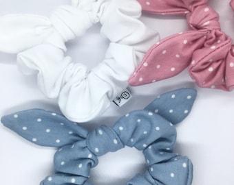 mixed scrunchies bow scrunchie CLEARANCE Scrunchie surprise bag petite scrunchie