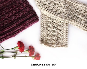 The Mackinac Cowl Crochet Pattern, Beginner Friendly Crochet, Super Bulky Pattern,
