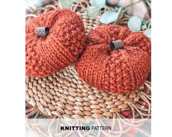 Blue Ridge Pumpkin- Knitting pattern