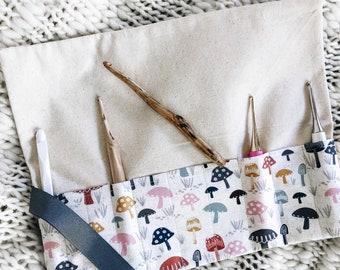 Crochet Tool Roll. Hook Organizer
