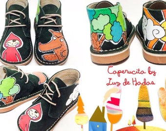Children's custom boots