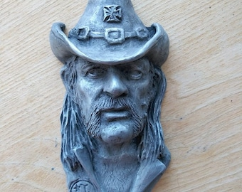 Lemmy inspired wall plaque