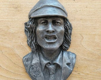 Angus ACDC inspired wall plaque