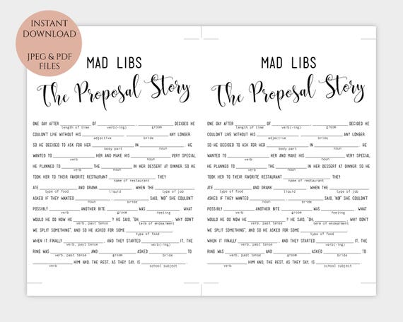 image about Printable Mad Libs for Adults Pdf referred to as Crazy Libs template Printable \