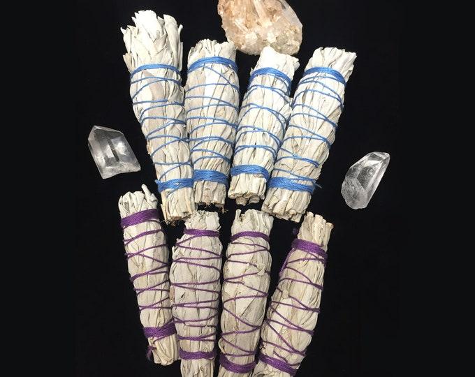White sage mini herb bundle