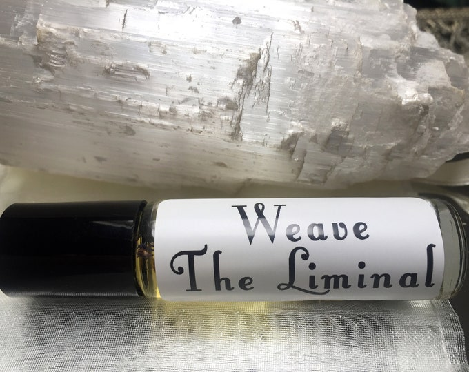 Weave The Liminal Oil, Ritual Anointing Oil Roll-on, Laura Tempest Zakroff collaboration