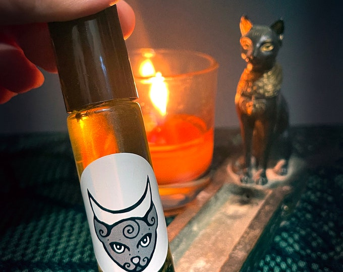 Bastet oil, Ritual Anointing Oil Roll-on
