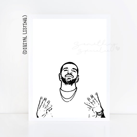 DRAKE SCORPION NOTHING WAS THE SAME POSTER PRINT A3 A4 BUY 2 GET ANY 2 FREE