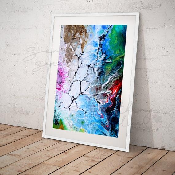 Resine Peinture Design Resine Art Peinture Design Multicolore