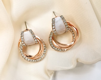 Earrings Korean Style Pearl Earrings For Women Fashion Style Crystal Without Ear Hole 925 Sterling Silver Ear Clip Eh111 Evident Effect