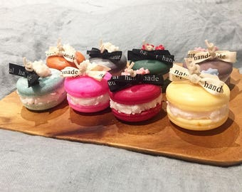 100% Natural Handmade Macaron Candles