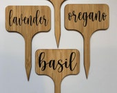 Customizable Plant Labels, Garden Markers Stakes, Herb Garden Labels Charcuterie Board Cheese Labels