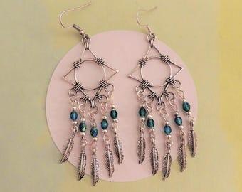 greenpPendant earrings Yukon